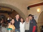 Mariola, Manu, Carmen, Plata y Txapela