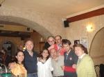 Mariola, Manu, Carmen, Plata, Txapela, Mª José Barrantes, Choya y Pilo