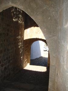 Interior de la puerta de Valencia