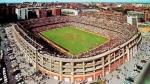 El Bernabéu en antes de la reforma para el mundial 82